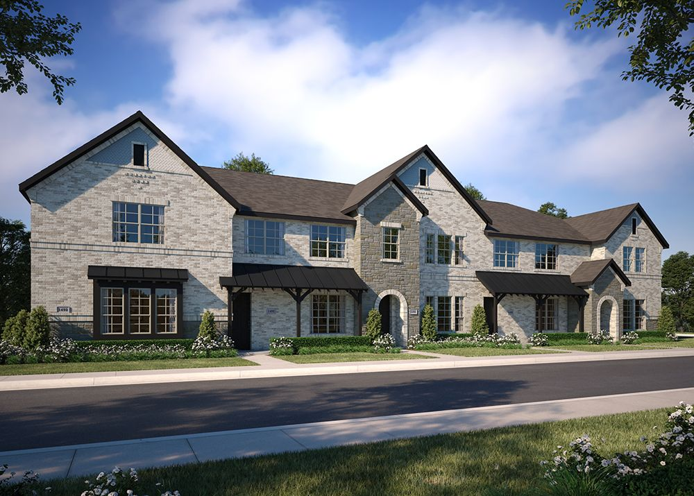 Exterior featured in the Hampton By CB JENI Homes in Dallas, TX
