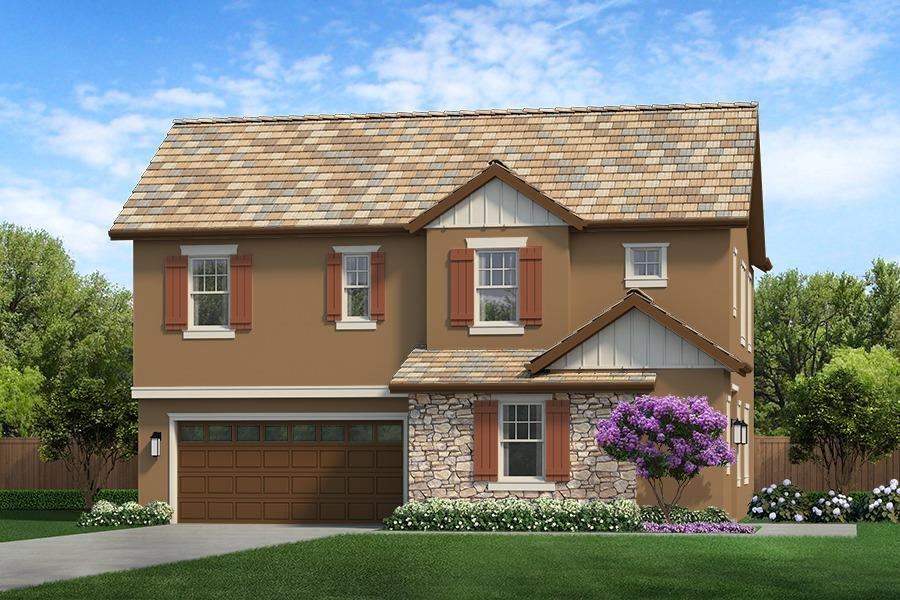 Exterior featured in The Emerald By CEC Homes in Sacramento, CA
