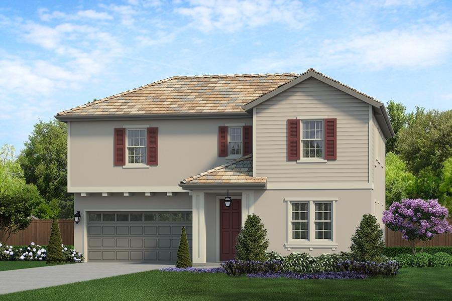 Exterior featured in The Sapphire By CEC Homes in Sacramento, CA