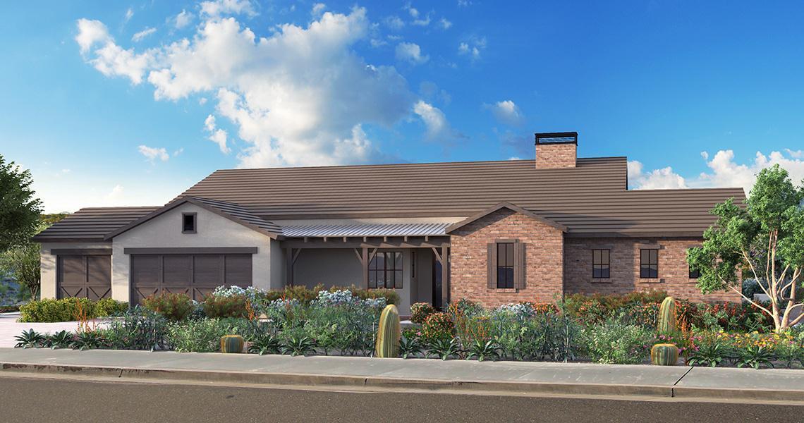 Exterior featured in the Jasper By CS Edmunds in Phoenix-Mesa, AZ