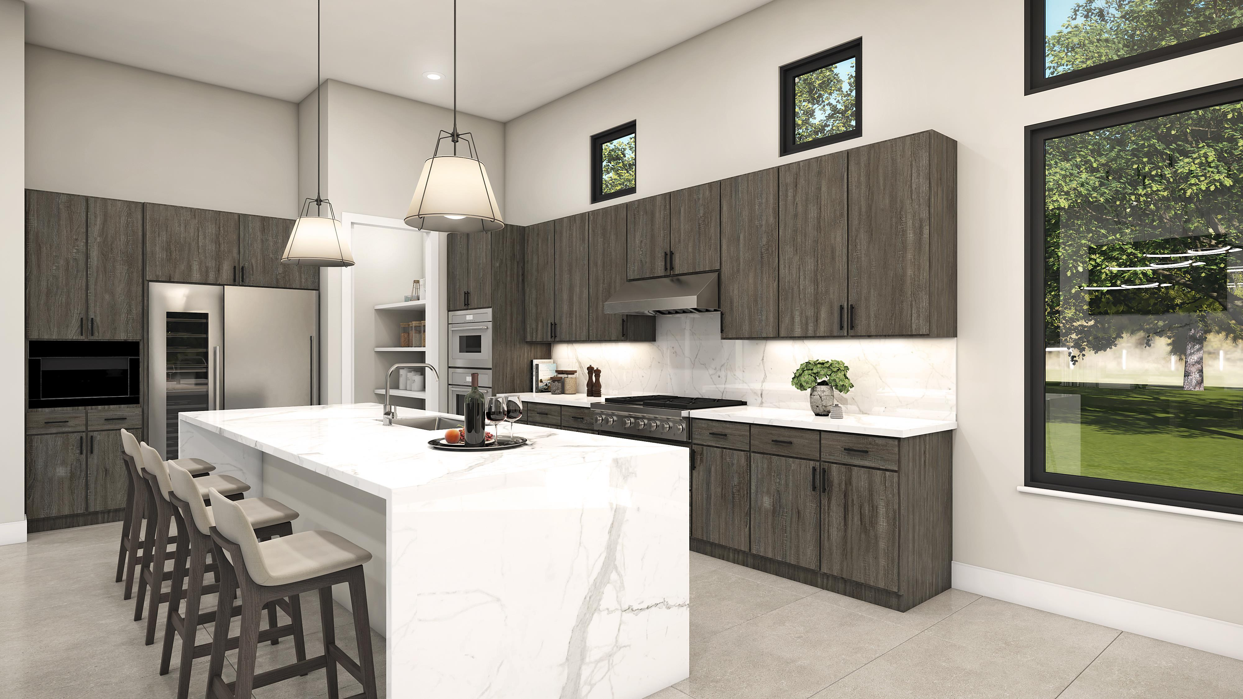 Kitchen featured in the Plan 2-A By Copper Valley  in Stockton-Lodi, CA