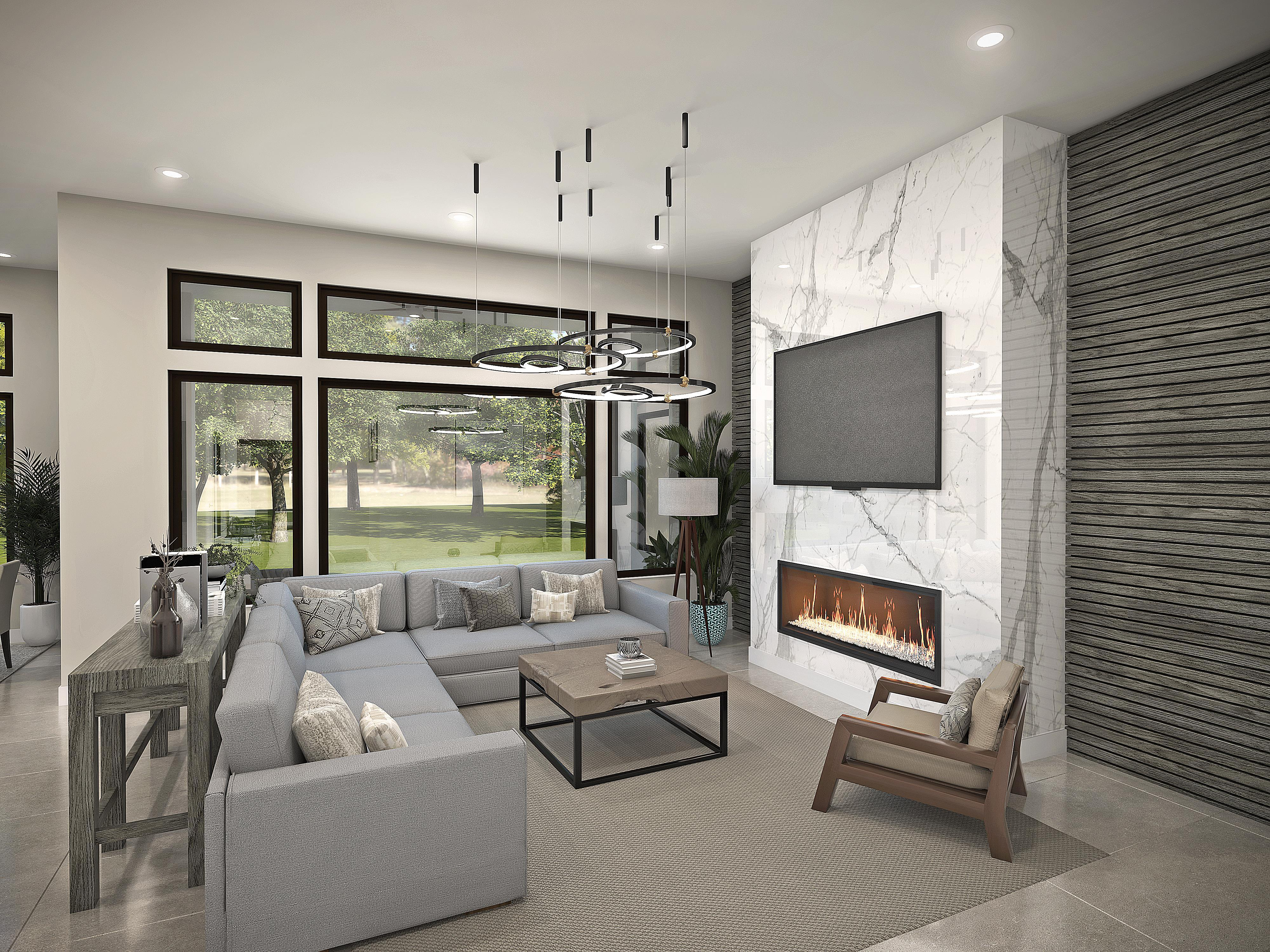Living Area featured in the Plan 2-A By Copper Valley  in Stockton-Lodi, CA