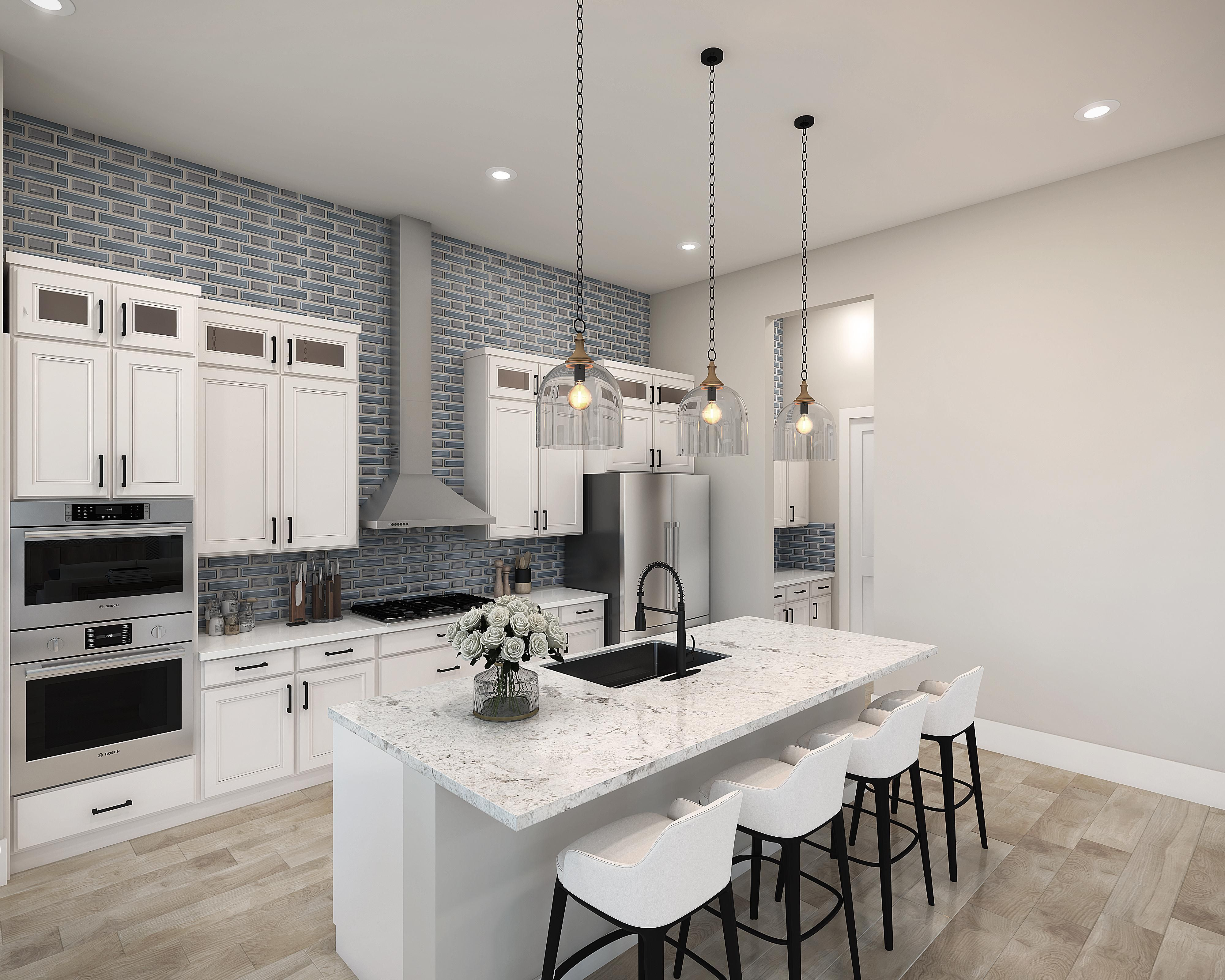 Kitchen featured in the Plan 1-B By Copper Valley  in Stockton-Lodi, CA