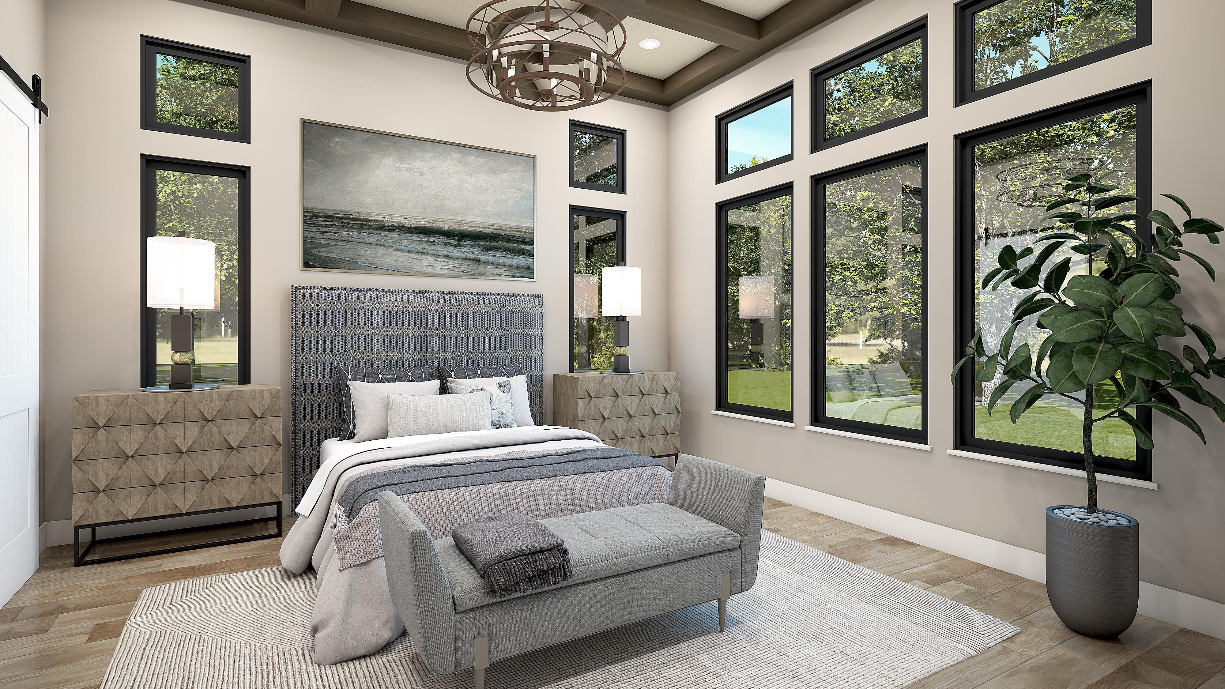 Bedroom featured in the Plan 1-B By Copper Valley  in Stockton-Lodi, CA