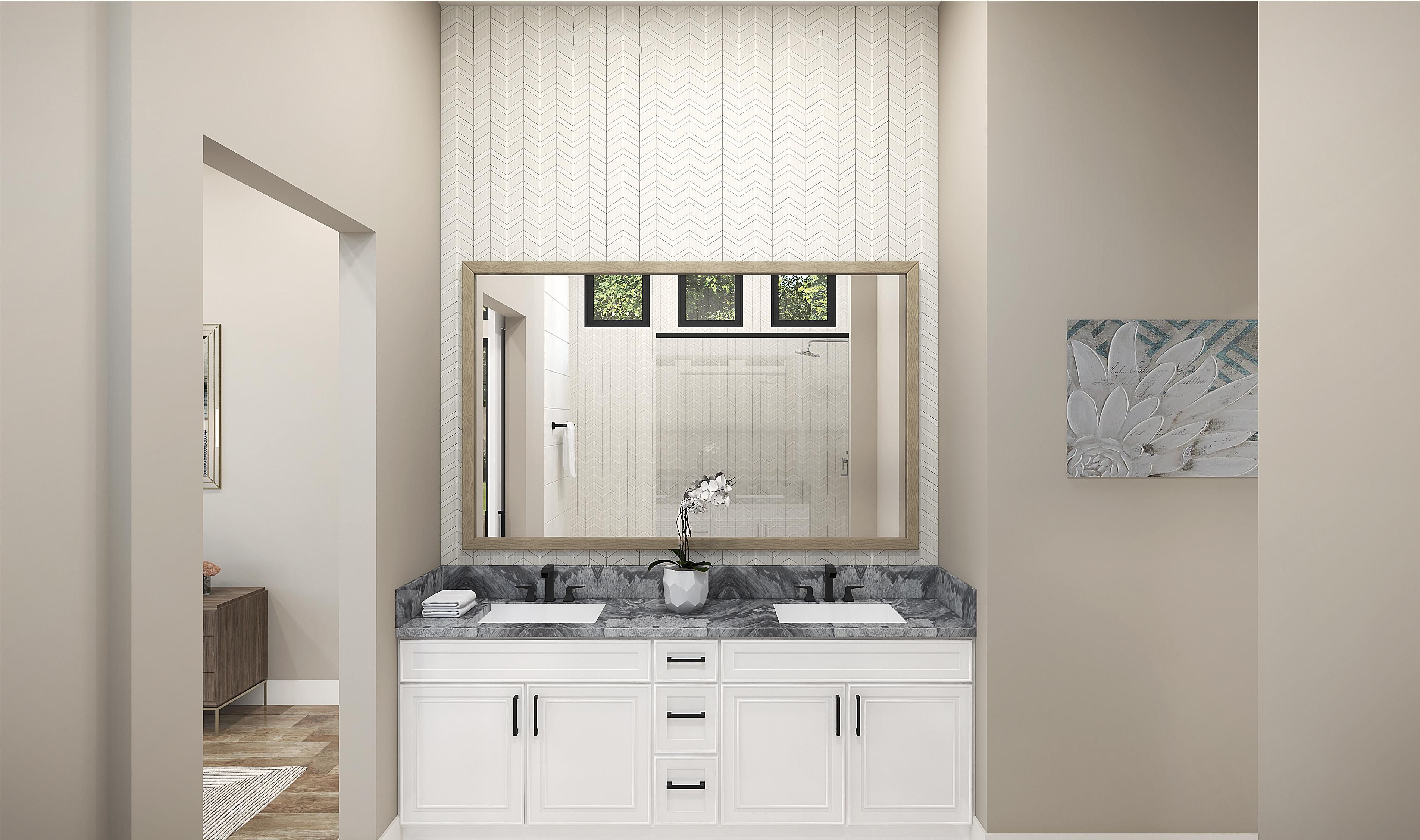 Bathroom featured in the Plan 1-C By Copper Valley  in Stockton-Lodi, CA