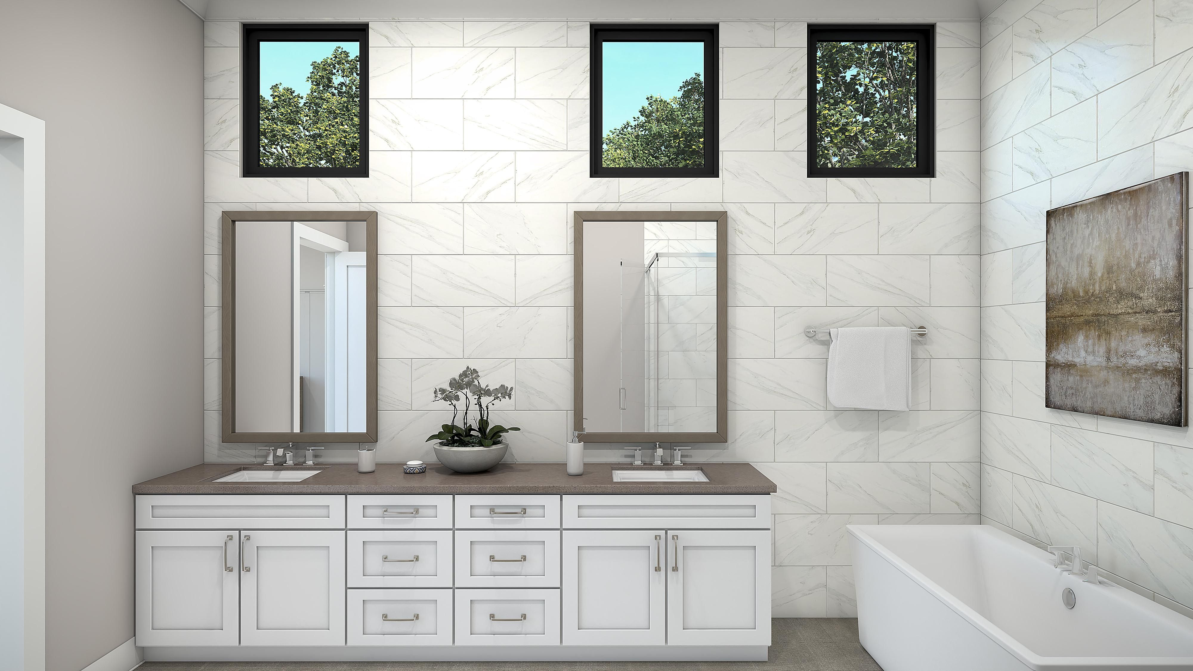 Bathroom featured in the Plan 3-B By Copper Valley  in Stockton-Lodi, CA