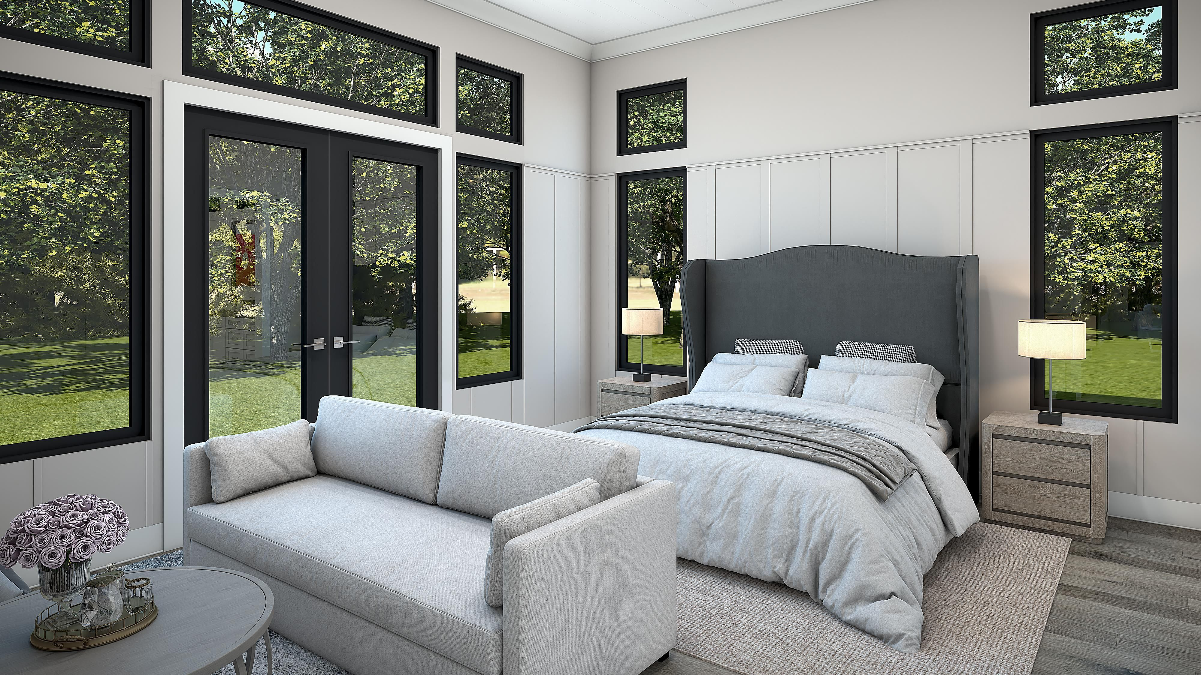 Bedroom featured in the Residence Three - Contemporary By Copper Valley  in Stockton-Lodi, CA
