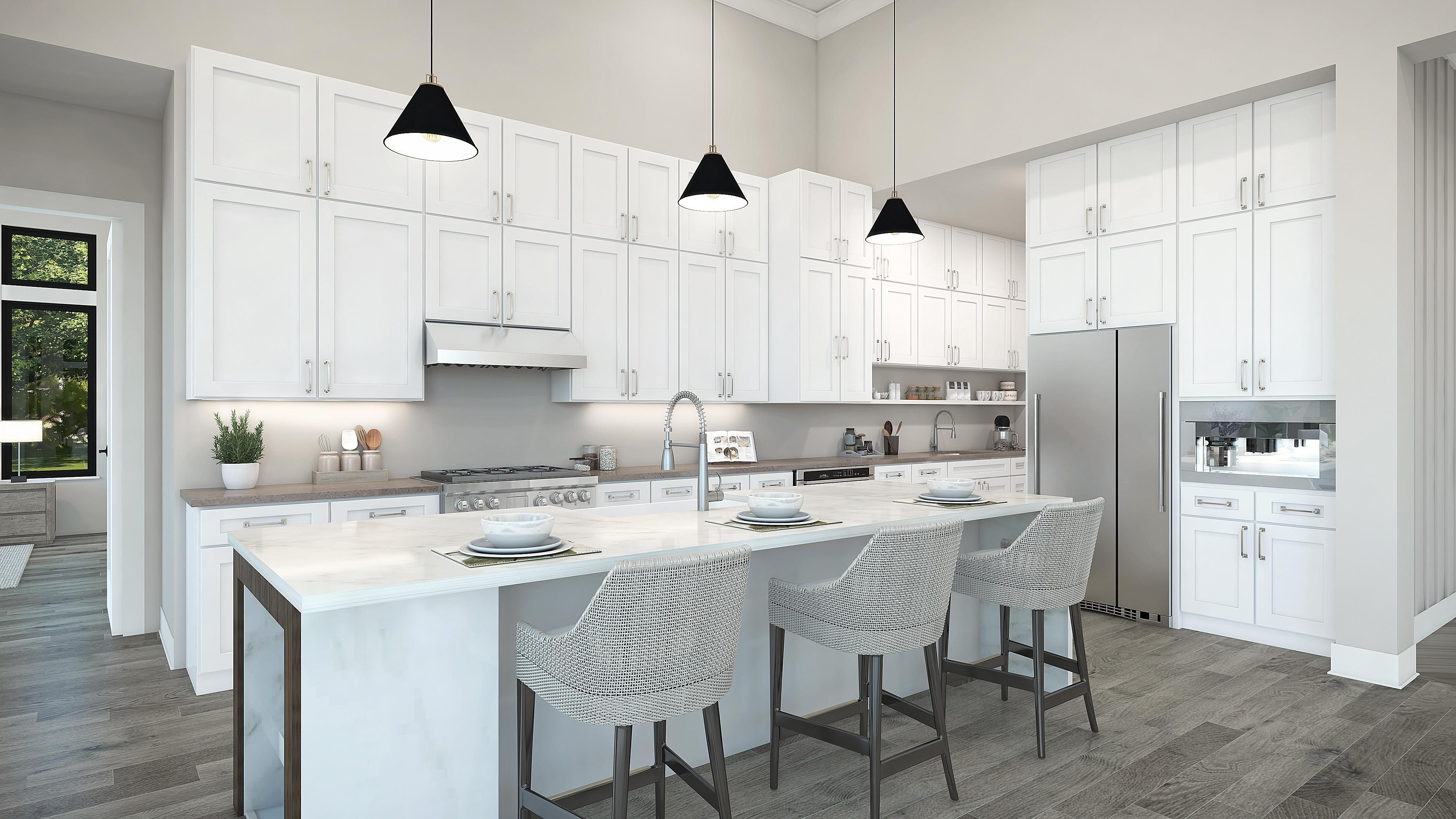 Kitchen featured in the Plan 3-C By Copper Valley  in Stockton-Lodi, CA