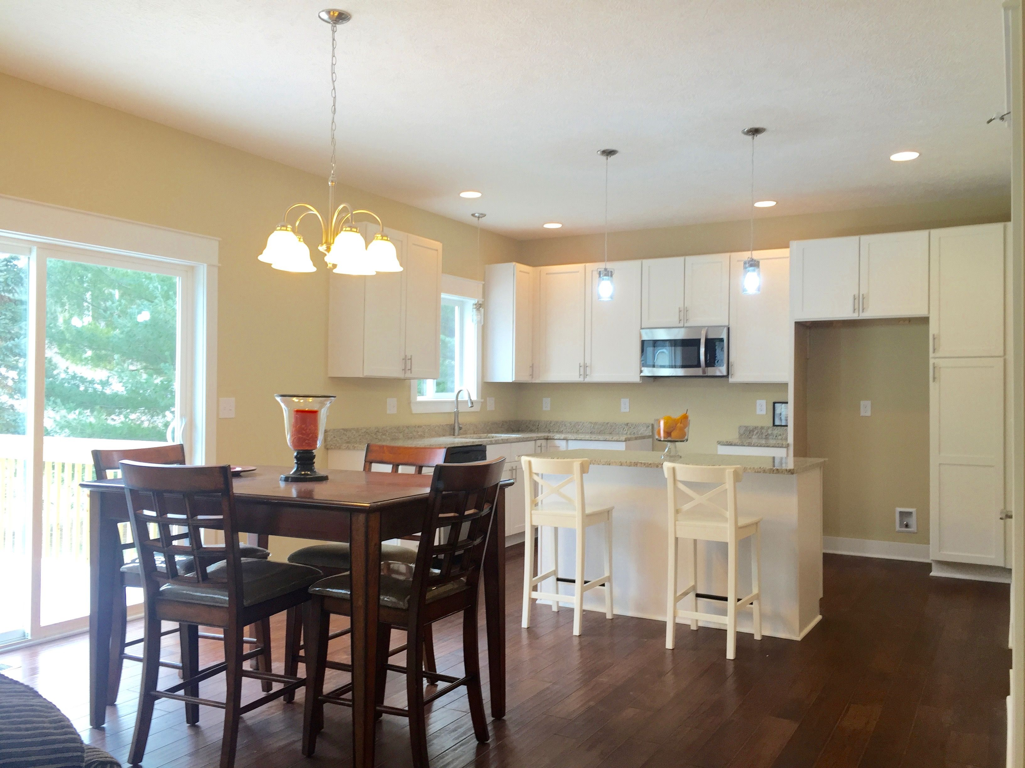 Kitchen featured in the Chester By CVE Homes in Jackson, MI