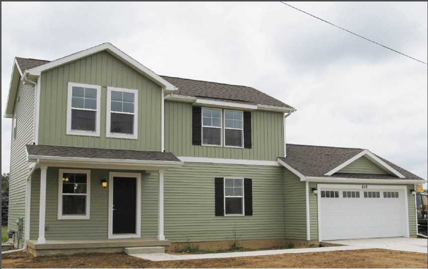 Exterior featured in the Whitman By CVE Homes in Ann Arbor, MI
