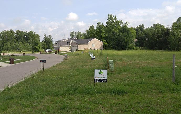 'Wooded Valley' by CVE Homes in Lansing