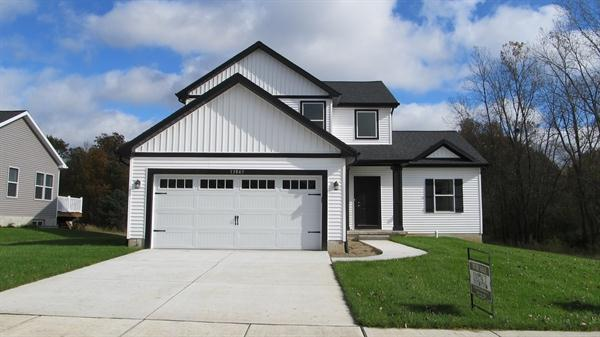 Exterior featured in the Pineridge By CVE Homes in Jackson, MI