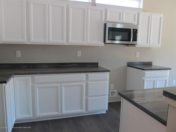 Kitchen featured in the Pineridge By CVE Homes in Jackson, MI