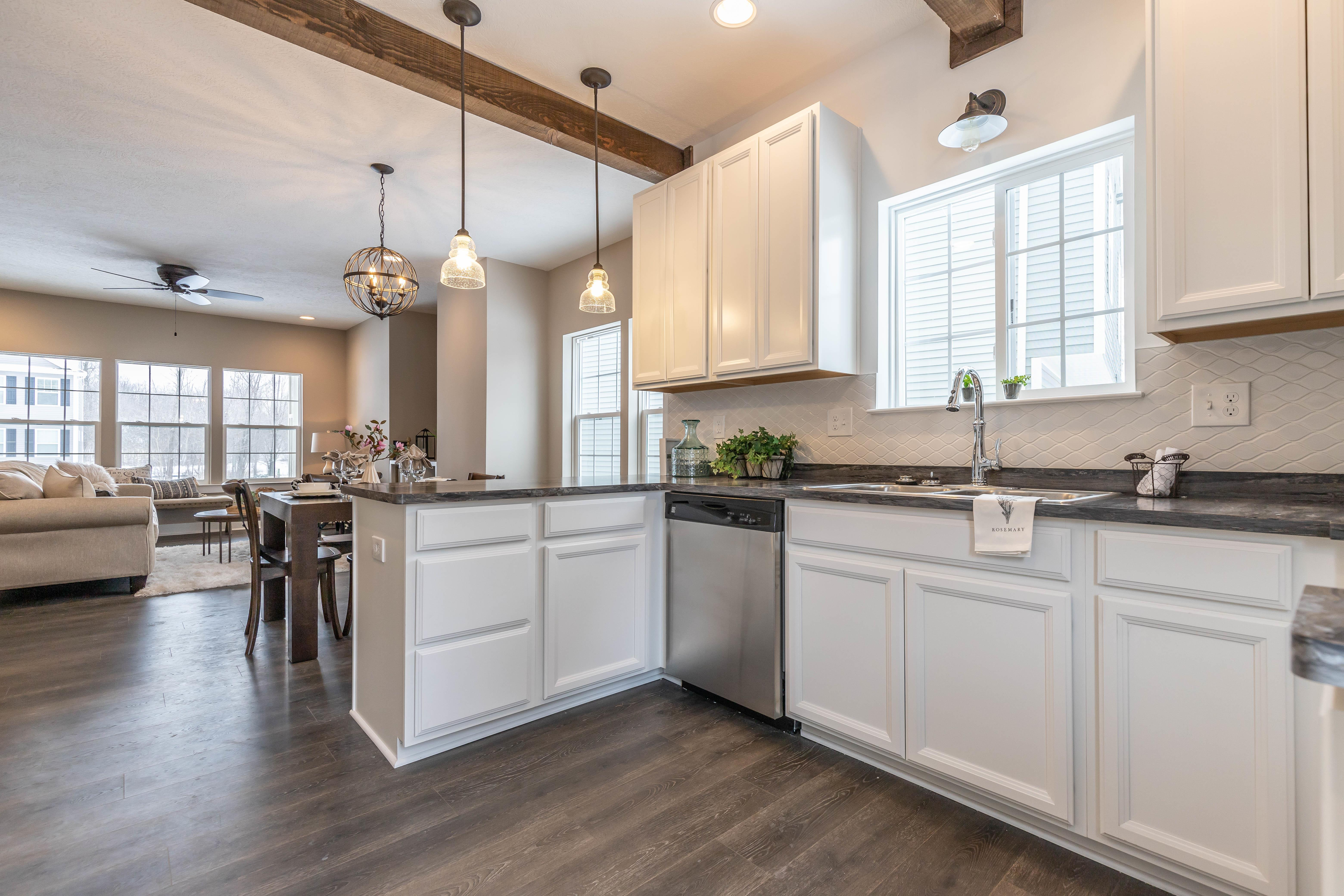 Kitchen featured in the Taylor By CVE Homes in Jackson, MI