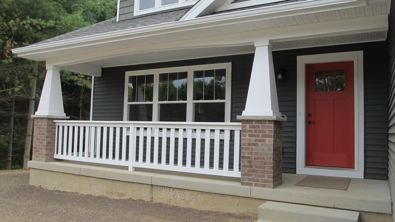 Exterior featured in the Kendrick By CVE Homes in Jackson, MI