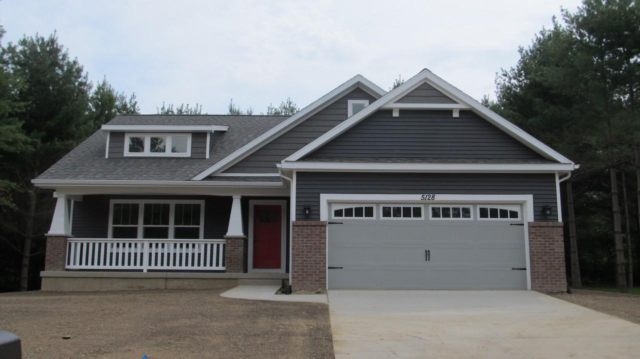 Exterior featured in the Kendrick By CVE Homes in Lansing, MI