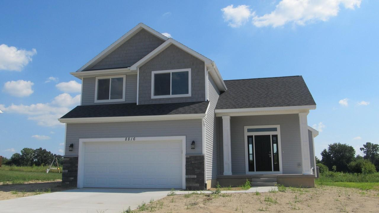 Exterior featured in the Malibu By CVE Homes in Jackson, MI