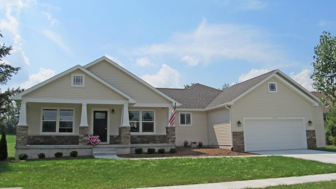 Exterior featured in the Rochester By CVE Homes in Jackson, MI