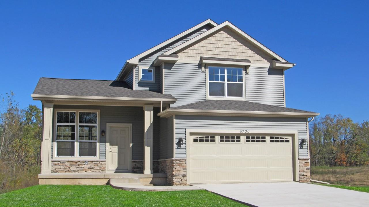 Exterior featured in the Armstrong By CVE Homes in Jackson, MI