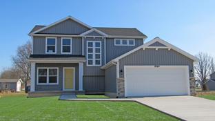 Franklin - Sandhill Estates: Grass Lake, Michigan - CVE Homes
