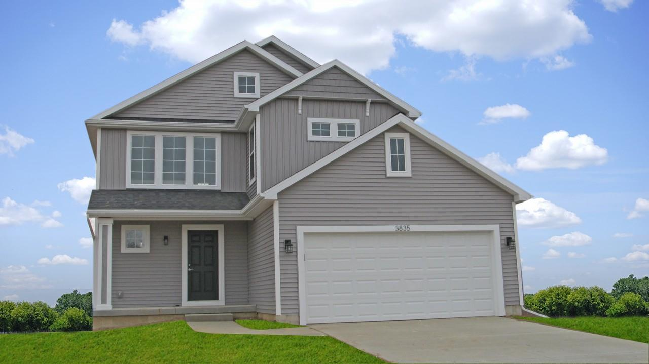 Exterior featured in the Prescott By CVE Homes in Jackson, MI