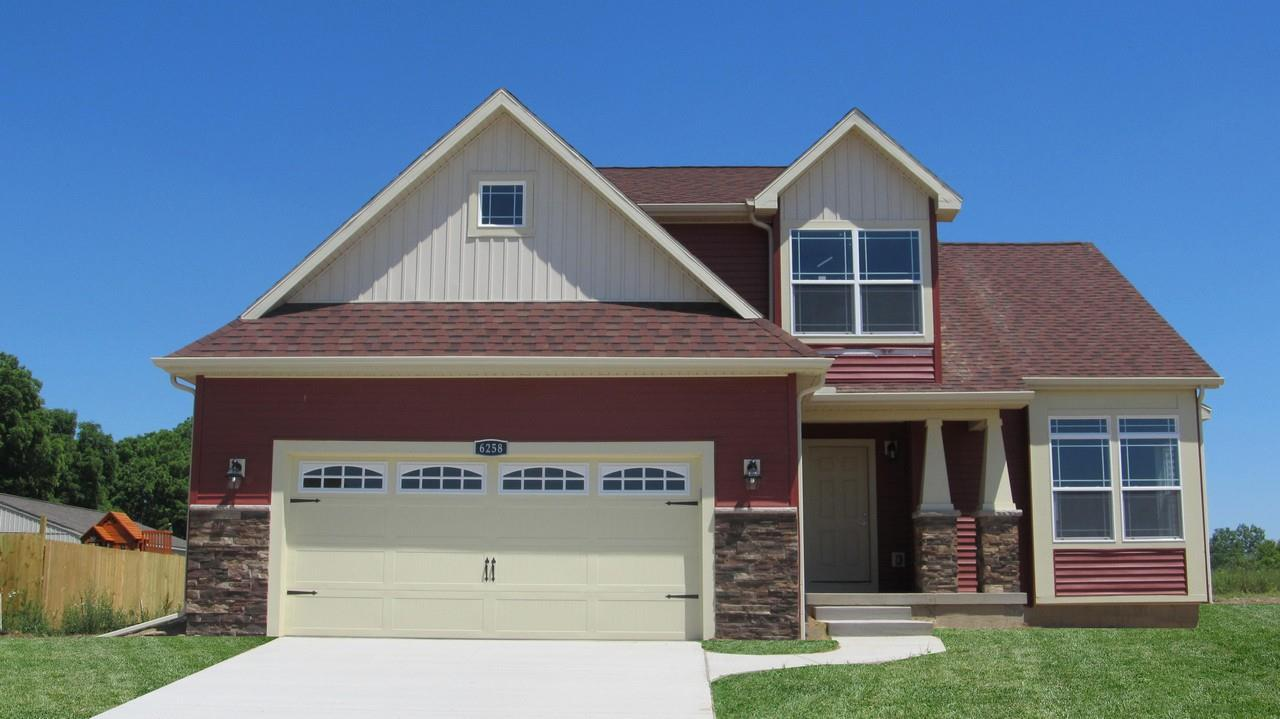 Exterior featured in the Sierra By CVE Homes in Jackson, MI