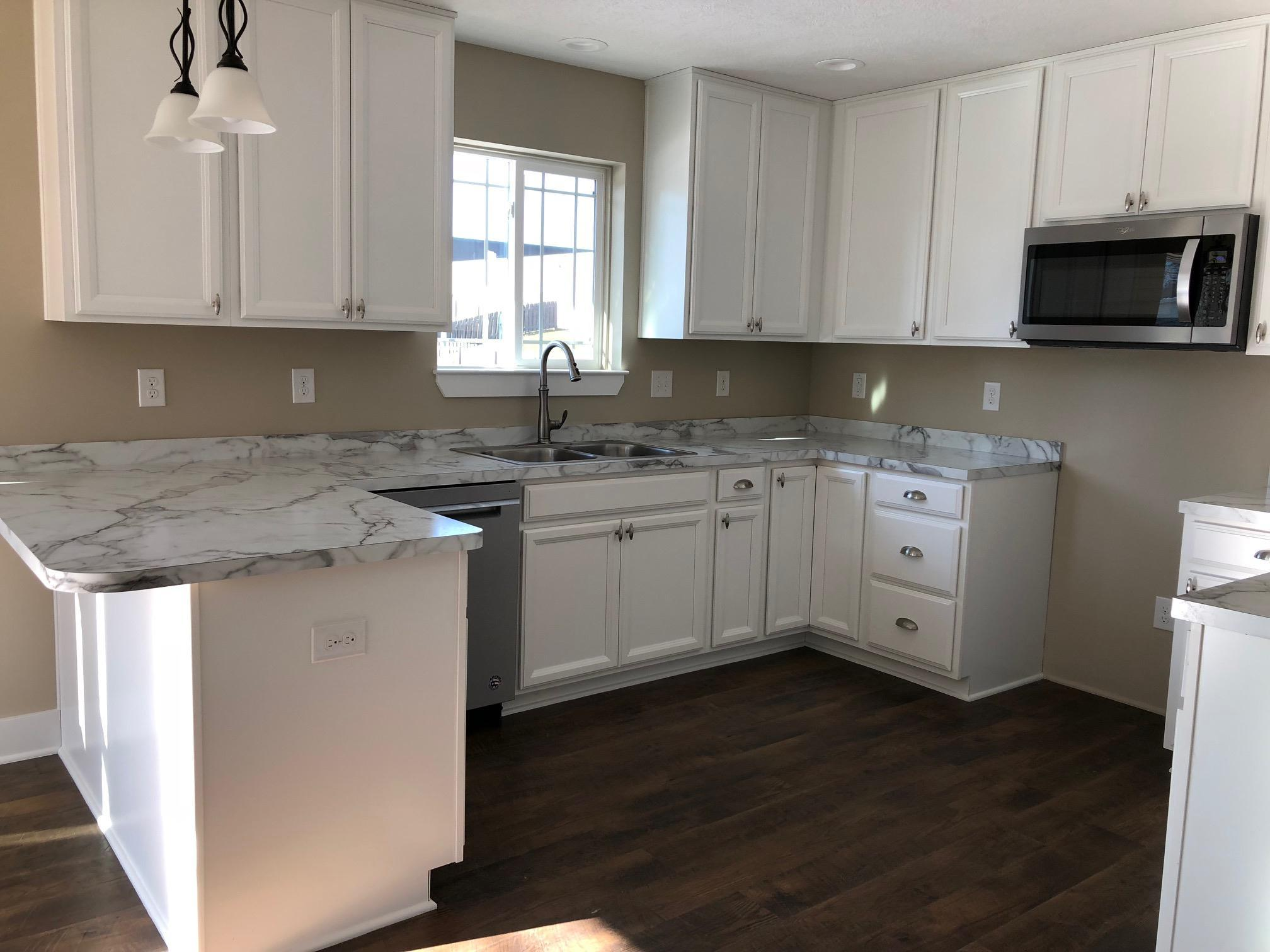 Kitchen featured in the Armstrong By CVE Homes in Jackson, MI