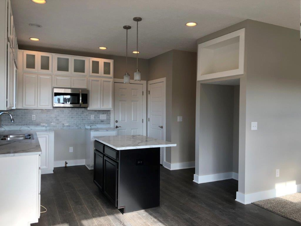 Kitchen featured in the Charleston By CVE Homes in Lansing, MI