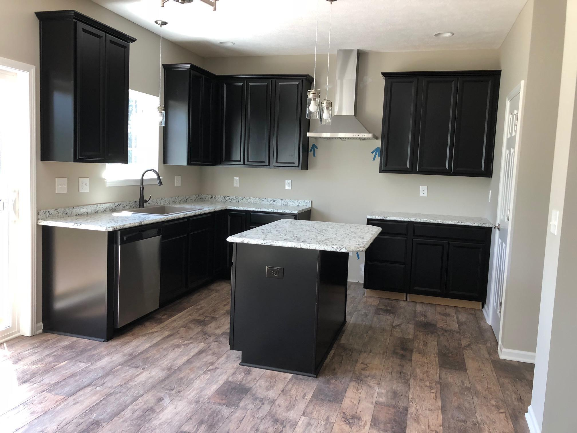 Kitchen featured in the Hampton II By CVE Homes in Jackson, MI