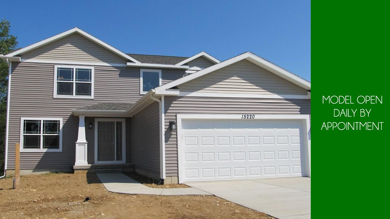 Exterior featured in the Abbott By CVE Homes in Jackson, MI