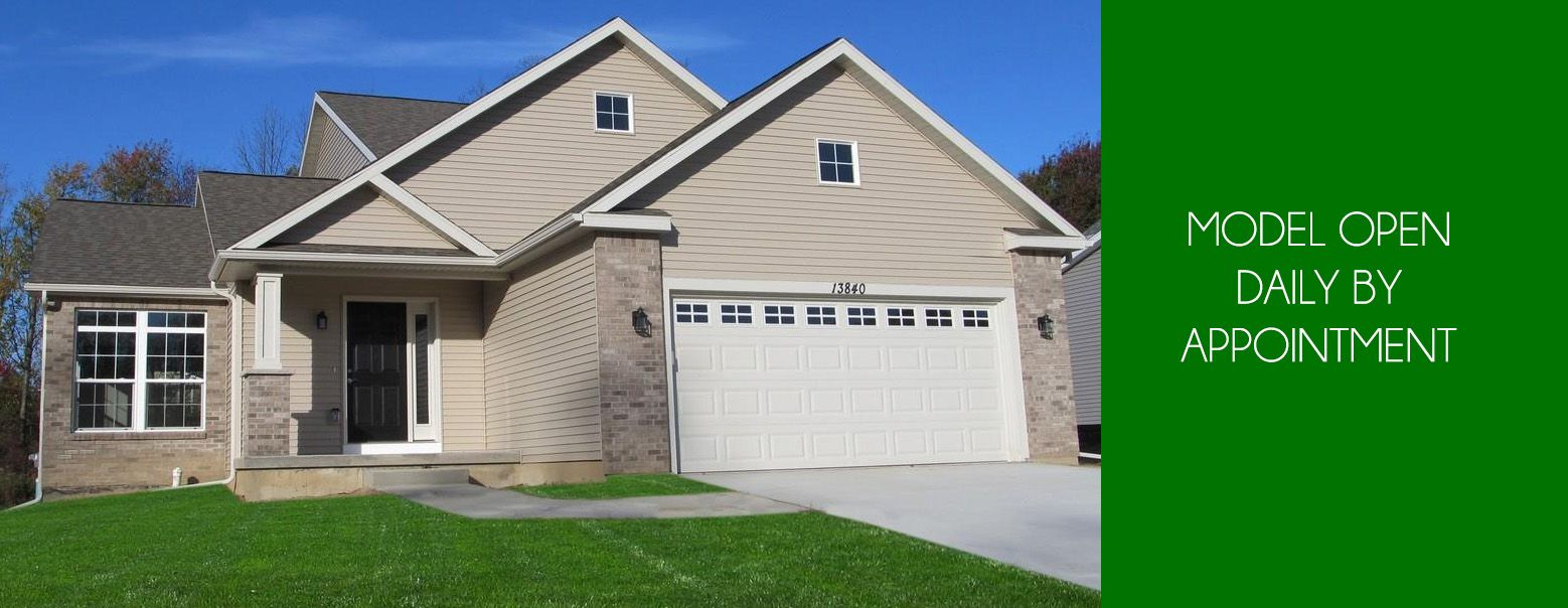 Exterior featured in the Bradford By CVE Homes in Jackson, MI