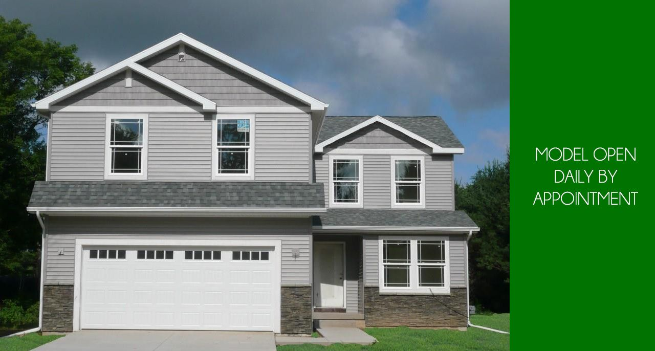 Exterior featured in the Christopher By CVE Homes in Jackson, MI