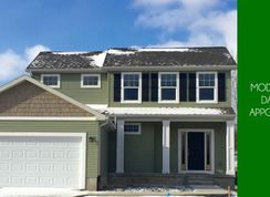 Eldridge - Fairfields of Spring Arbor: Spring Arbor, Michigan - CVE Homes