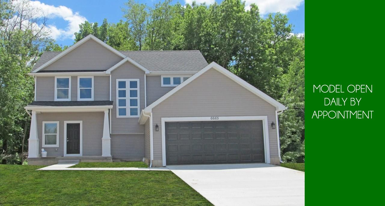 Exterior featured in the Franklin By CVE Homes in Lansing, MI