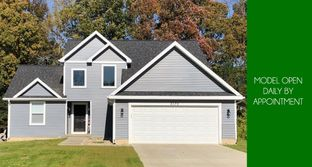 Hampton II - Sandhill Estates: Grass Lake, Michigan - CVE Homes