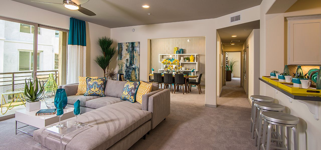 Living Area featured in the Monterey Plan Three By Cachet Homes in Phoenix-Mesa, AZ