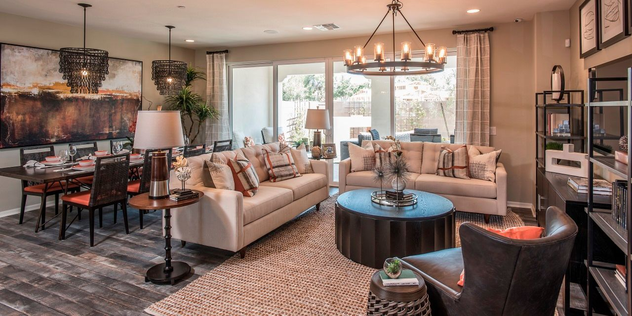 Living Area featured in the Lifestyle Three By Cachet Homes in Phoenix-Mesa, AZ
