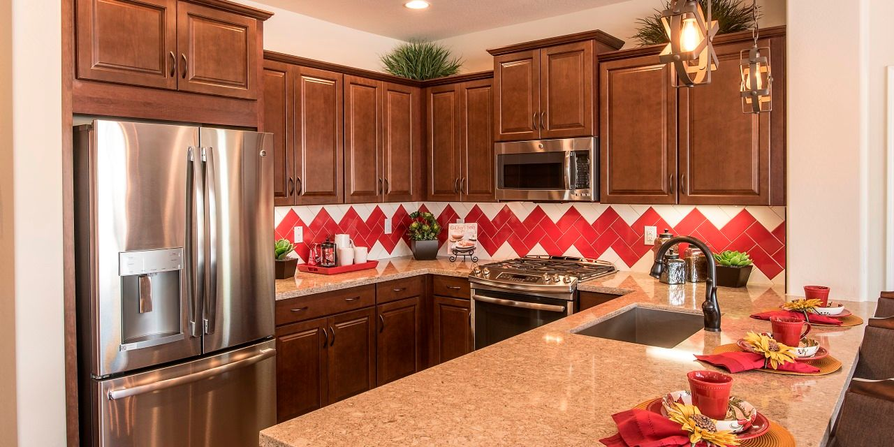 Kitchen featured in the Villa One By Cachet Homes in Phoenix-Mesa, AZ
