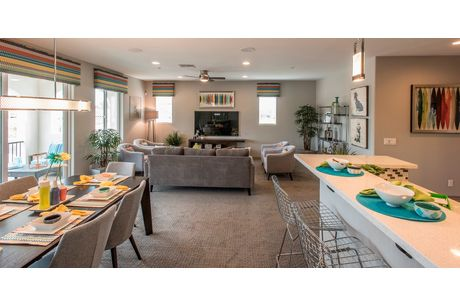 Greatroom-and-Dining-in-Villa Two-at-Cachet at the Wigwam-in-Litchfield Park