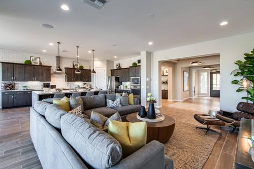 Greatroom-and-Dining-in-Union Park Plan 3-at-Cachet at Union Park-in-Phoenix
