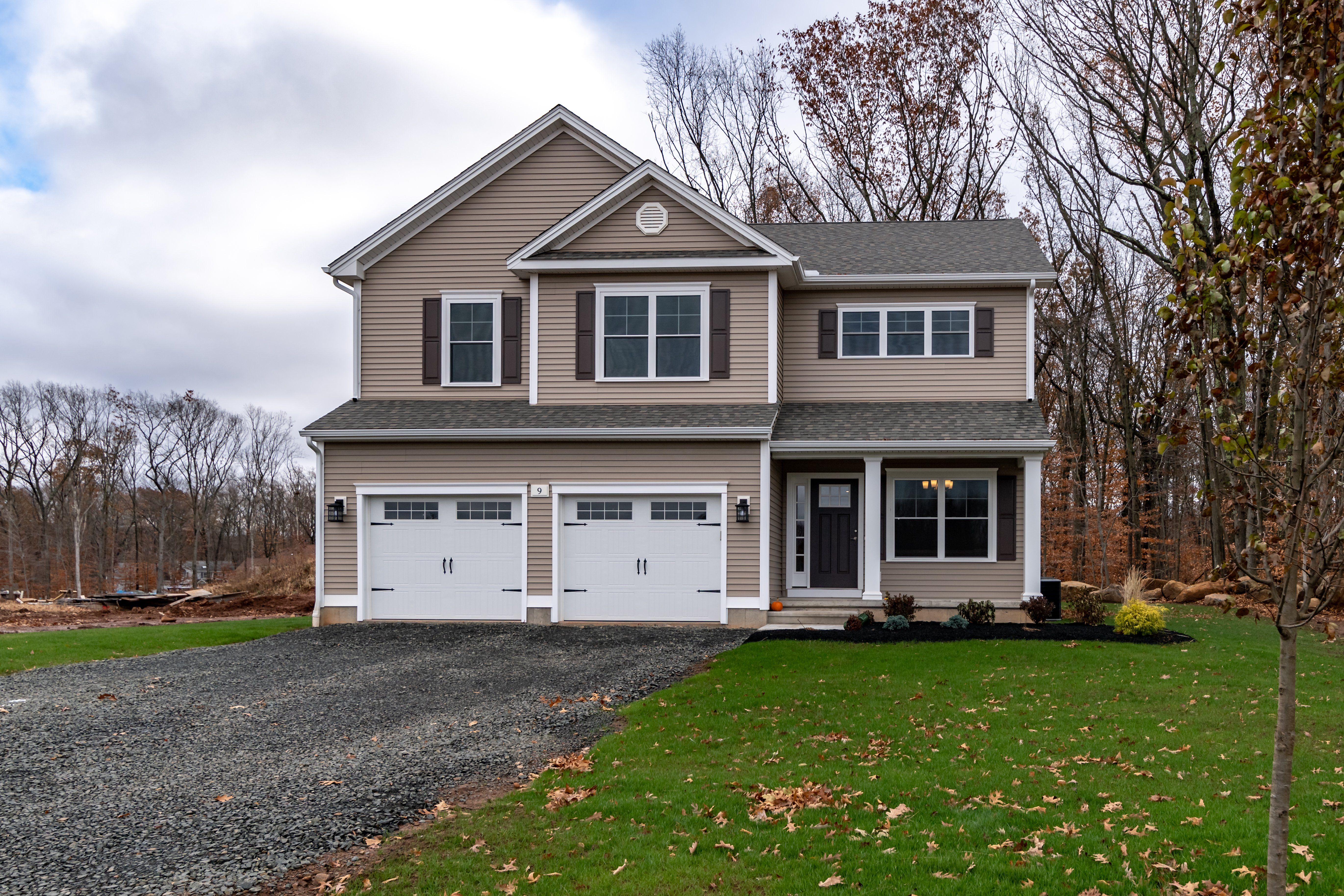 Exterior featured in the Andover By Calcagni Real Estate in Hartford, CT