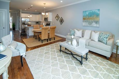 Greatroom-and-Dining-in-The Easton-at-Beecher Walk-in-Orange
