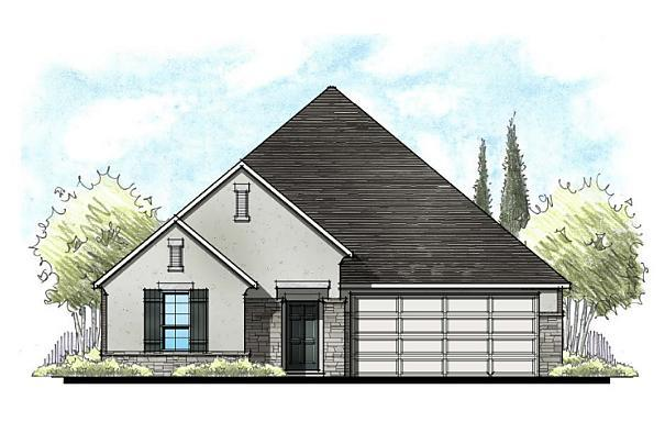 Exterior featured in the Astor By Caldwell Homes in Bryan-College Station, TX