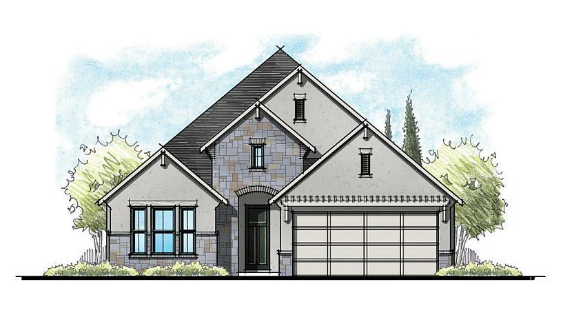 Exterior featured in the Rosemary By Caldwell Homes in Bryan-College Station, TX