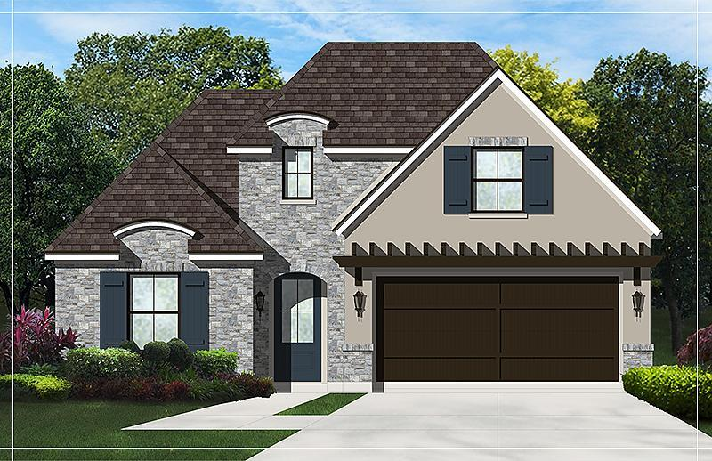Exterior featured in the Leander By Caldwell Homes in Bryan-College Station, TX