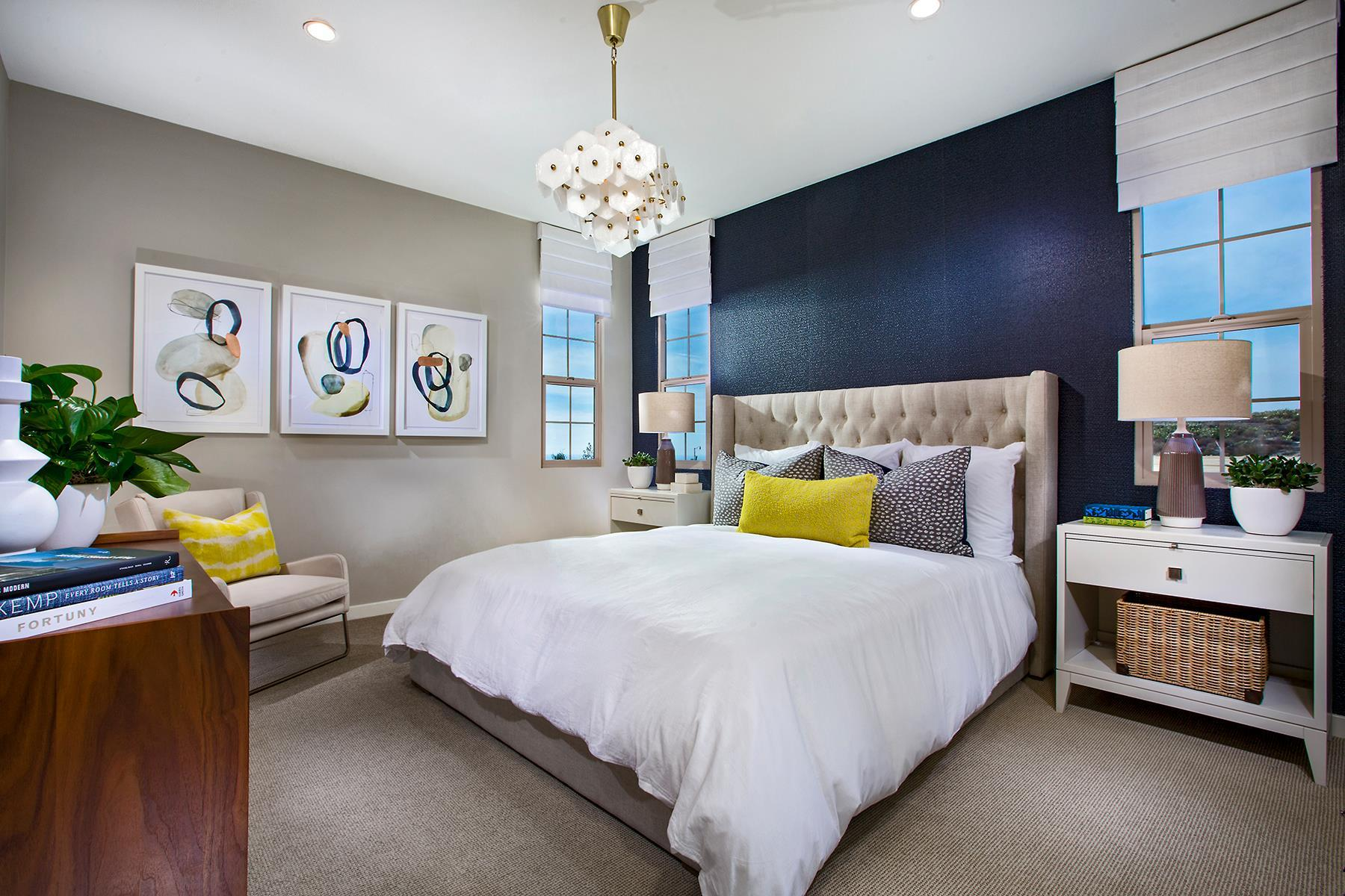 Bedroom featured in the Residence 3 By California Pacific Homes in Orange County, CA