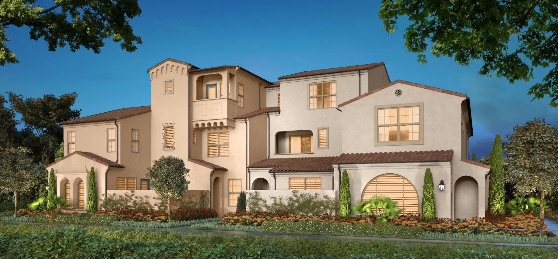 Exterior featured in the Residence 1 By California Pacific Homes in Orange County, CA