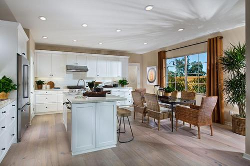 Greatroom-and-Dining-in-Residence 2R-at-Silverleaf-in-Irvine