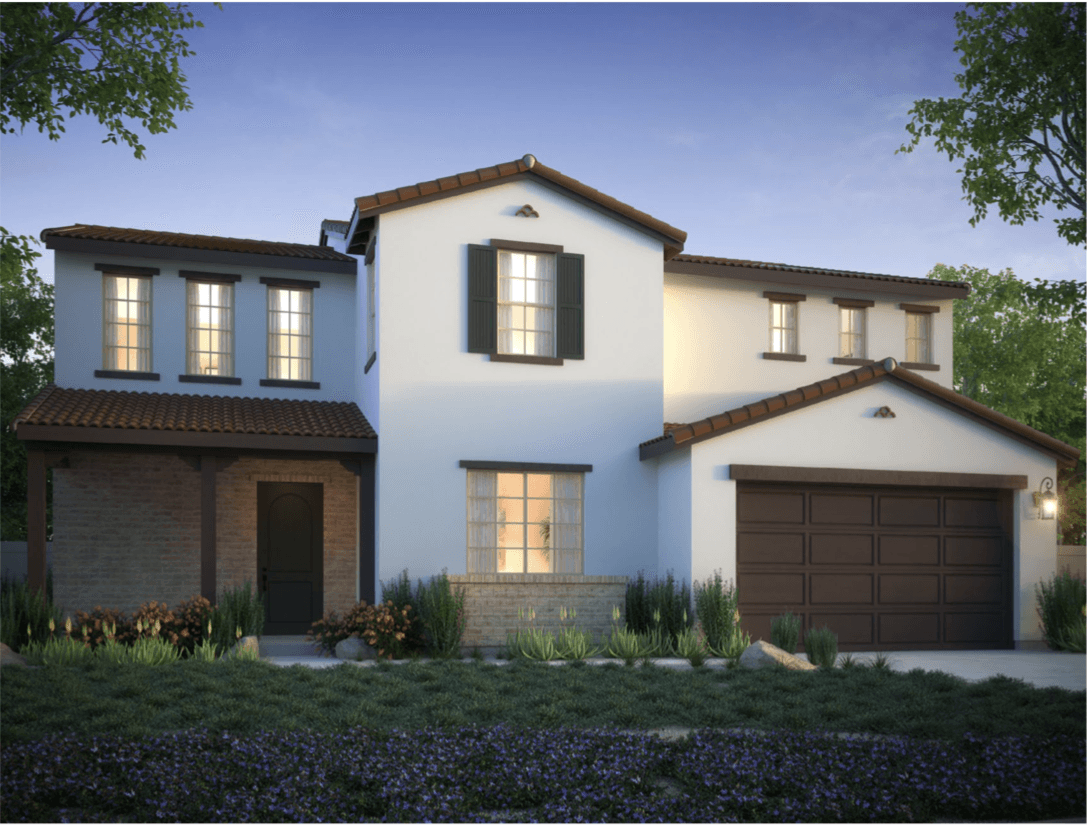 Exterior featured in the Plan 4 By California West Communities in San Diego, CA
