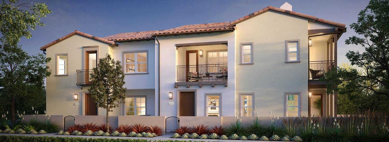 Exterior featured in the Residence 3 By California West Communities in San Diego, CA